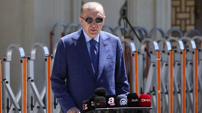 """Cumhurbaşkanı Erdoğan, """"NATO'da içinde ilk 5'te yerini alan güçlü bir ülkeyiz"""""""