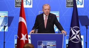 """Cumhurbaşkanı Erdoğan, """"NATO'nun küresel sınamalar karşısında daha etkin inisiyatifler üstlenmesi gerekmektedir"""""""