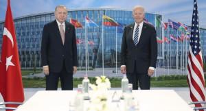 Erdoğan Biden görüşmesi başladı