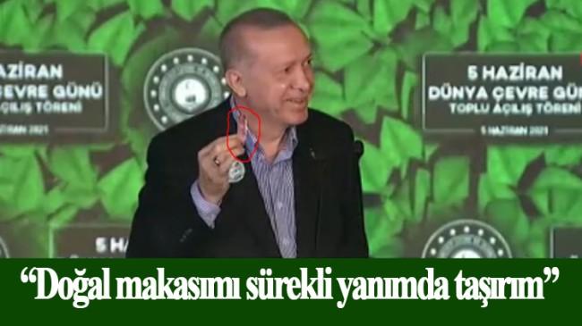 Erdoğan, 'doğal makas'ından bahsetti