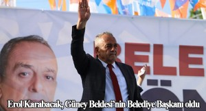 Güney Beldesi'nin AK Parti'li başkan adayı Karabacak, yüzde 63'le kazandı