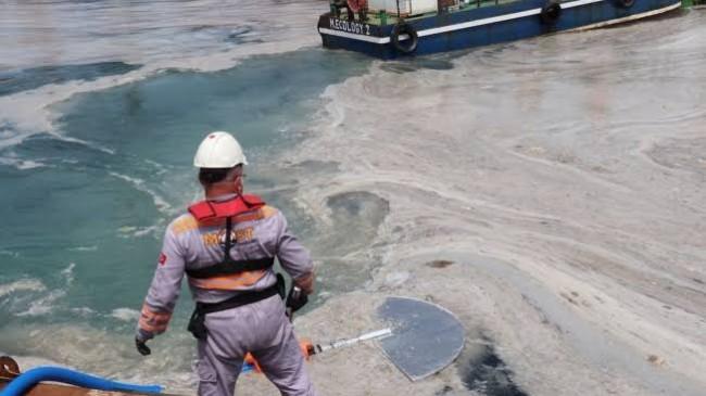 İstanbul umurunda olmayan İmamoğlu'na duyurulur: İstanbul'da bin 361 metreküp müsilaj temizlendi