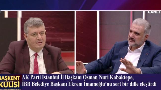 """İstanbul İl Başkanı Kabaktepe, """"İmamoğlu bütçeyi arttırıp, yatırımı kısıyor"""""""