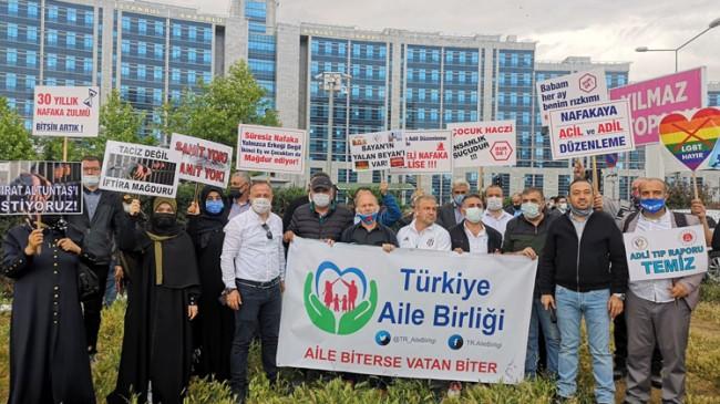 İstanbul'dan Ankara'ya 'süresiz nafakaya hayır', 'Adalet Yürüyüşü'