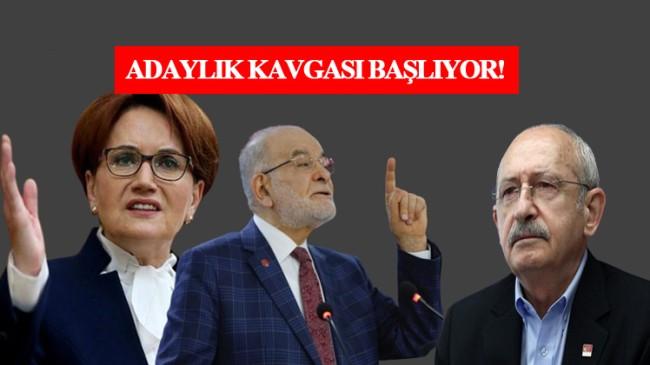 İyi Parti ile Saadet Partisi, Kemal Kılıçdaroğlu'nun adaylığından rahatsız