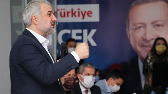 """Kabaktepe, """"CHP liderinin hakaretlerini kendisine aynen iade ediyoruz"""""""