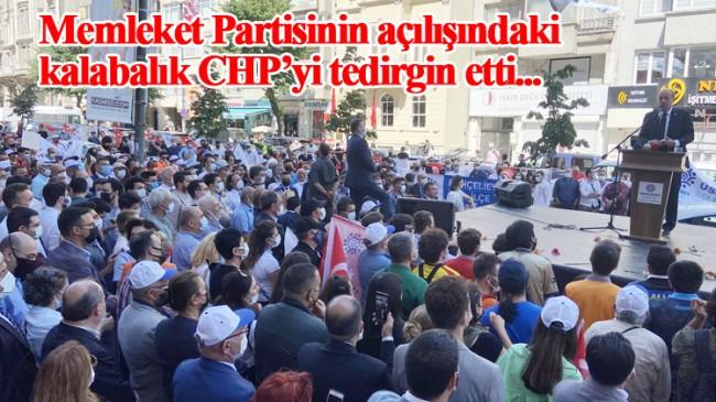 Memleket Partisi İstanbul İl Başkanlığı binası açılışına yoğun katılım oldu