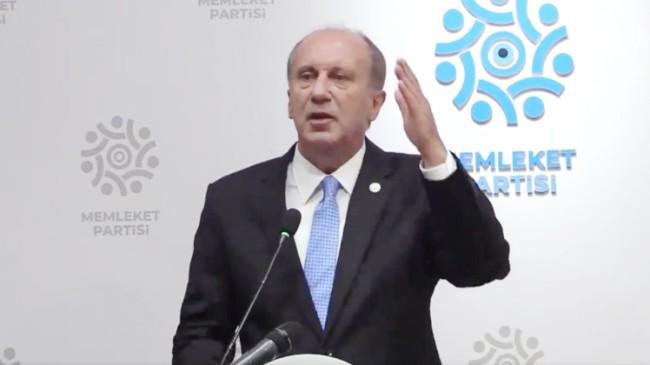 """Muharrem İnce, """"CHP iktidar olursa milletin anasını ağlatır"""""""