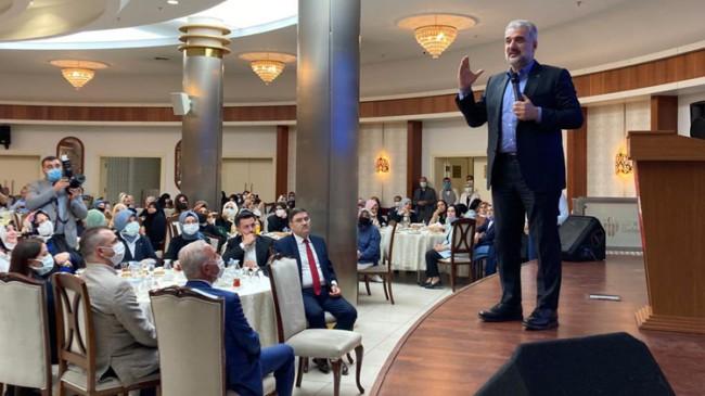 İl Başkanı Osman Nuri Kabaktepe, enerji dolu Ümraniye teşkilatı ile buluştu