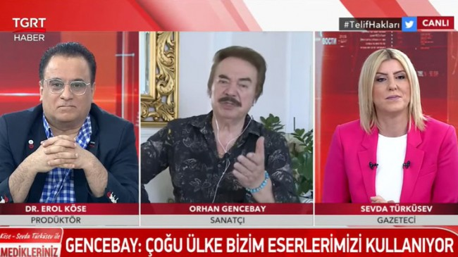 """Orhan Gencebay: """"Her şeyi devletten beklemeyelim"""""""
