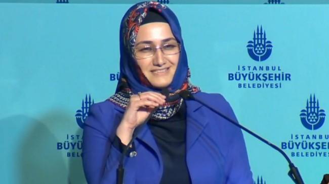 AK Partili Meclis Üyesi Özlem Erol, İBB Meclis toplantısında İSKİ'yi eleştirdi