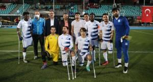 Pendik Belediyesi Ampute Futbol Takımı rakibini 6-2 yendi