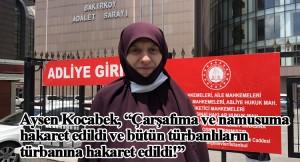 Türk adaletinde çarşaflılara ağır hakarete beraat, tehdite ise 360 lira ceza (!)