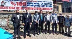 Üsküdar'da yüzde 100 mutabakatla kentsel dönüşüm başladı