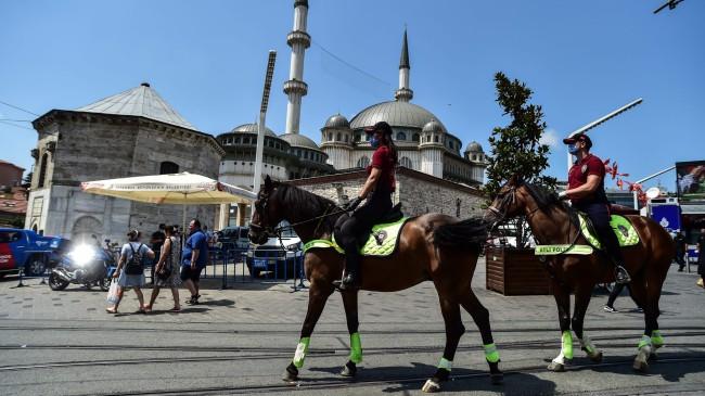 Taksim'in güvenliği onlara emanet