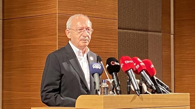 Kemal Kılıçdaroğlu, orman yangınlarının faili PKK ile ilgili tek kelime etmedi!