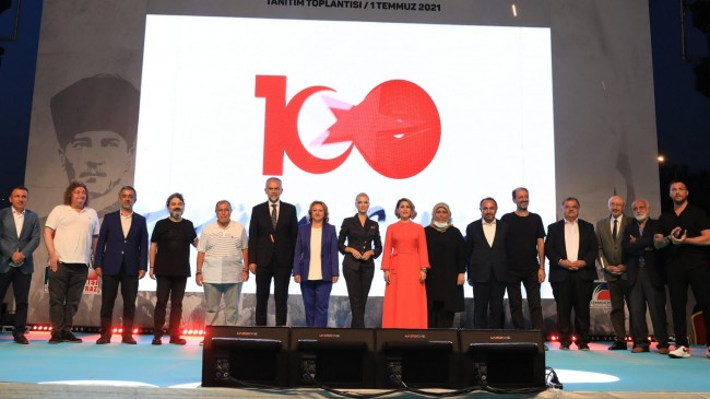 """Çekmeköy Belediyesi, milletin yazacağı """"100. Yıl Marşı Yarışması""""nı başlattı"""