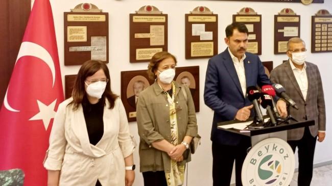 "Bakan Kurum, ""Marmara Denizi'ni en kısa zamanda eski haline getireceğiz"""