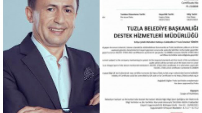 Tuzla Belediyesi, Türkiye'de yerel yönetimlerde bir ilkin sahibi oldu