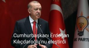 """Cumhurbaşkanı Erdoğan, """"Tarifeli uçakla gidersin, trene binersin"""""""