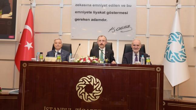 """Ticaret Bakanı Muş, """"Yılın ikinci yarısında odağımız e-ticaret olacak"""""""