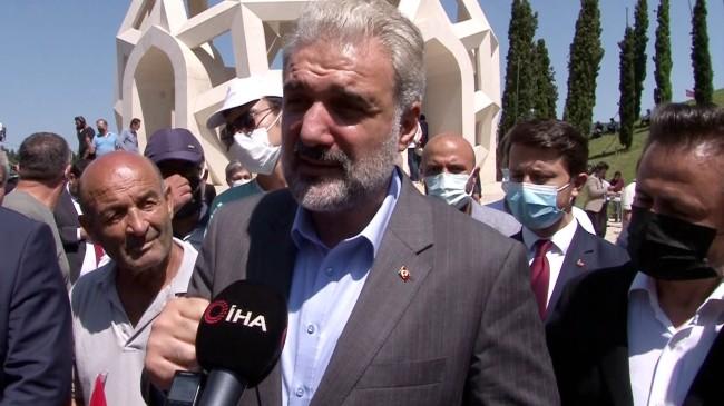 """AK Parti İstanbul İl Başkanı Kabaktepe: """"Türkiye, tek millet tek yürek olmaya devam edecek"""""""