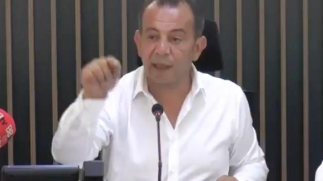 CHP'li Bolu Belediye Başkanı Tanju Özcan, faşist zihniyetini dışa vurdu!