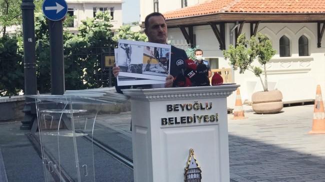 """Beyoğlu Belediye Başkanı Yıldız, """"İBB yönetiminin anlayışı yıkmak üzerine"""""""