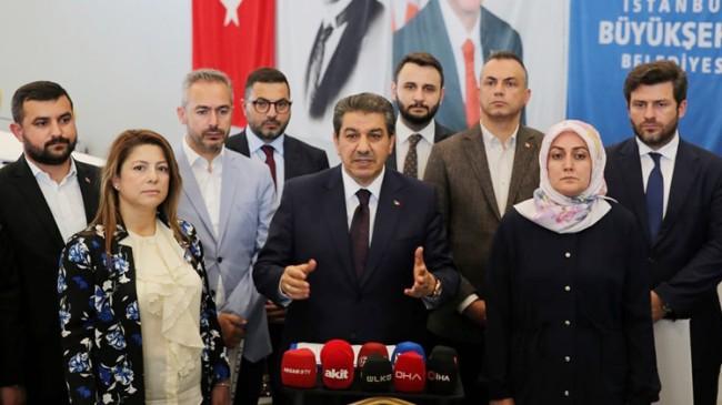 AK Parti Grubundan İBB yönetimine yönelik sert eleştiriler geldi