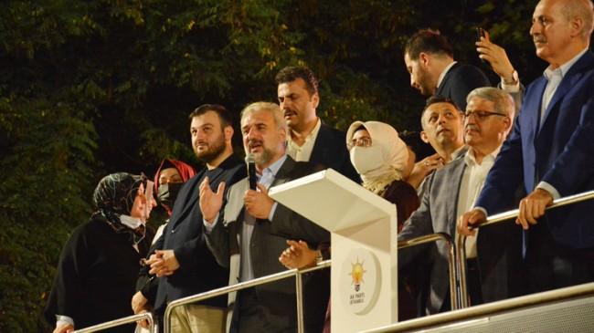 AK Parti İstanbul İl Başkanlığı'nın teşkilatlarla 15 Temmuz buluşması