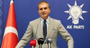 """AK Parti Sözcüsü Ömer Çelik, """"CHP sözcüsünün ifadesi bir siyasi ifade değil, ahlak dışı bir düşmanlıktır"""""""