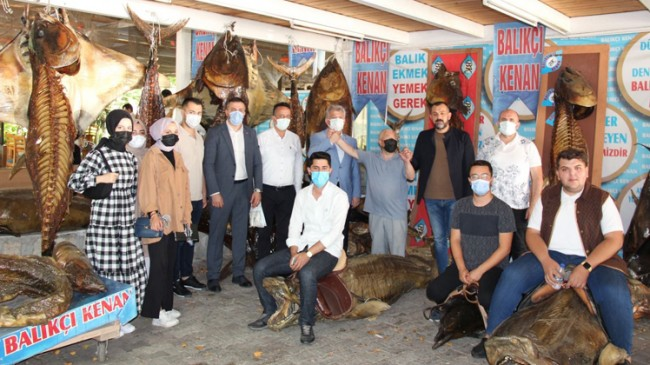 AK Parti Beylikdüzü, İmamoğlu'nun yıktırdığı balık müzesine sahip çıktı