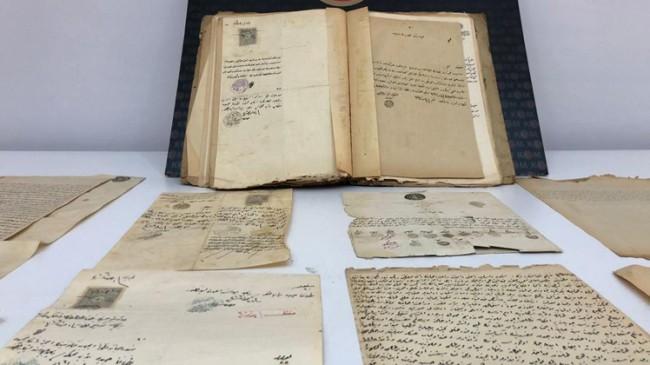 Kayıp Osmanlı Kadıları'na ait mahkeme tutanakları Kadıköy'de bulundu