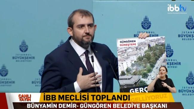 Başkan Demir, Millet Bahçesi projesini engelleyen İBB'ye tepki gösterdi