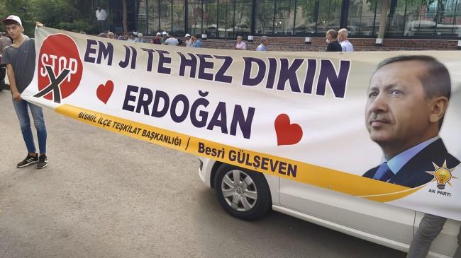 'Em Ji Te hez dıkım Erdoğan'