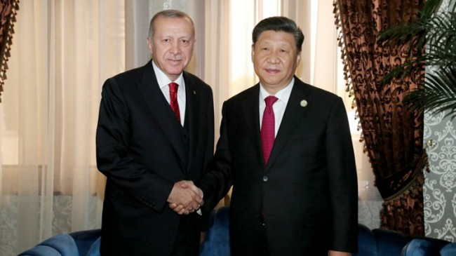 Erdoğan, Çin Devlet Başkanı Şi Cinping'le Uygur Türklerini konuştu