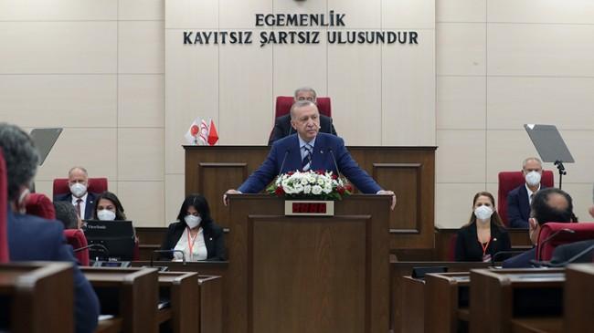 Erdoğan, Kıbrıslılara müjdeyi açıkladı