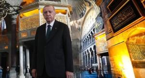 Cumhurbaşkanı Erdoğan'dan Ayasofya-i Kebir Cami-i Şerifi paylaşımı