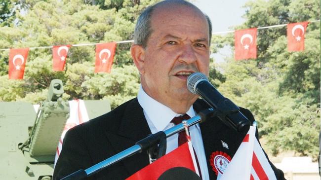 """KKTC Cumhurbaşkanı Ersin Tatar, """"Türkiye Cumhuriyetine teşekkür ediyorum"""""""