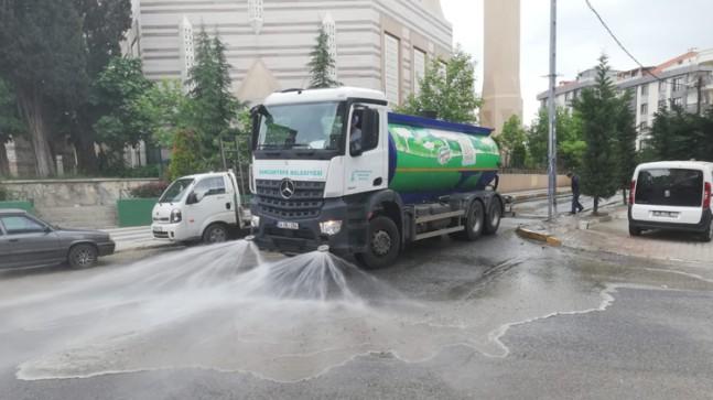 Sancaktepe Belediyesi'nden bayram temizliği