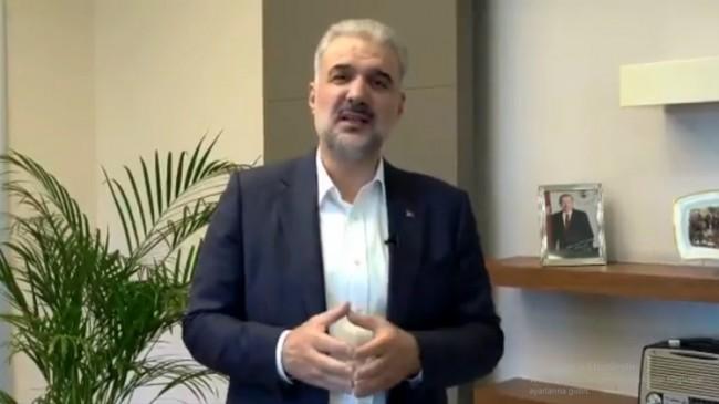 İl Başkanı Kabaktepe, İstanbul'un tüm belediyelerini fidan bağışına davet etti