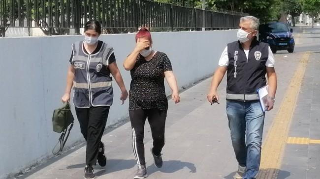 O kadın, yangın bölgesinde halkı kin ve düşmanlığa tahrik gerekçesiyle tutuklandı