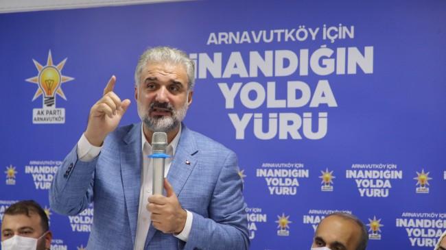 """İl Başkanı Osman Nuri Kabaktepe, """"Siyasi kundakçılık yapmayın"""""""