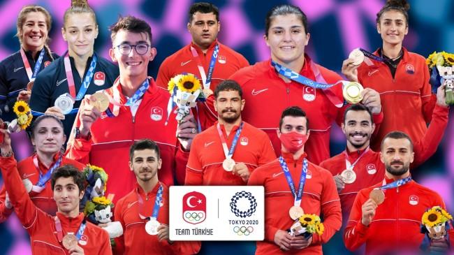 Türkiye için Tokyo Olimpiyat Oyunları'nda birçok ilkler yaşandı