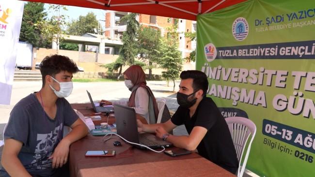 Tuzla Belediyesi'nden, tercih yapmak isteyen öğrencilere rehberlik hizmeti
