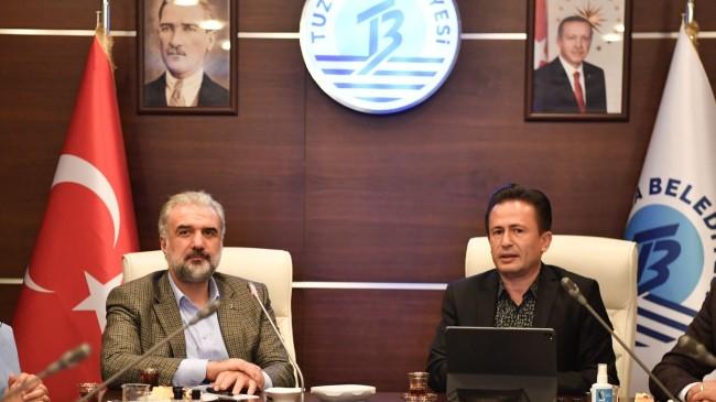 İstanbul İl Başkanı Osman Nuri Kabaktepe Tuzla'dan İBB'ye yüklendi