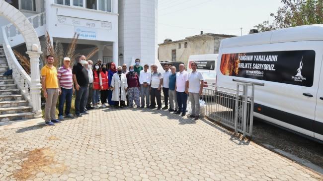 Sancaktepe Belediye Başkanı Şeyma Döğücü'den Manavgatlı köylülere yeni cami sözü