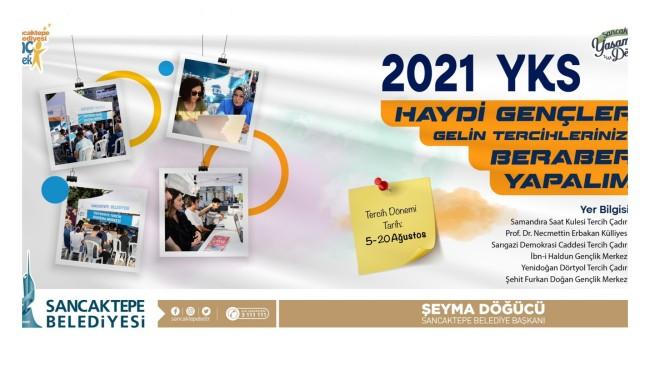 Sancaktepe Belediyesi'nden YKS tercihleri için öğrencilere destek
