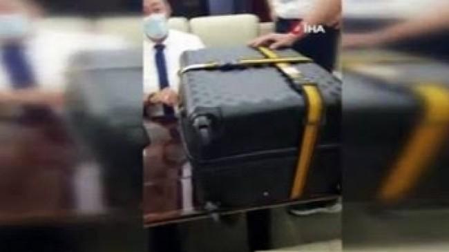 Fortaleza Havalimanı'nda Türk iş jetinde 24 valiz kokain ele geçirildi