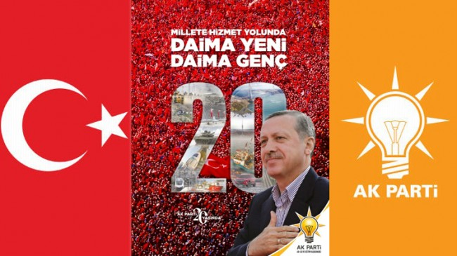 AK Parti'nin millete hizmet yolunda 20. yıl dergisi çıktı